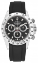 black FKM-rubber strap for Rolex DAYTONA