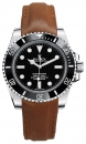Novonappa / Barenia leather strap for Rolex Submariner